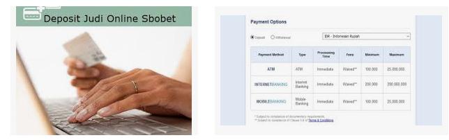 Keuntungan melakukan deposit di agen resmi sbobet online